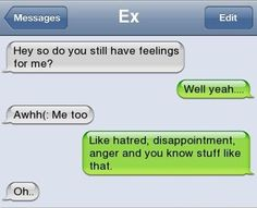 Funny Text Messages Bf/Gf | CLICK: Guess What This Woman Did to Her Ex-Boyfriend? via Huffington ...