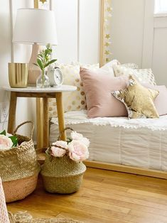 Small Space Living : Girls Bedroom Ideas, how we transformed this room - Dreaming of Homemaking Girl Room, Girls Bedroom, Bedroom Decor, Bedroom Ideas, Bedroom Inspiration, Bedroom Signs, Bedroom Small, Master Bedrooms, Bedroom Apartment