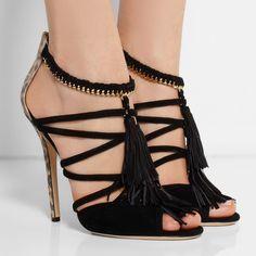 New Fashion Wondrous Suede Cut-Outs Dress Sandals 10965271 - Platform Sandal