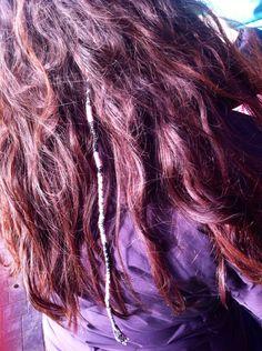 In hair braids. In hair wraps.  Beautiful curly hair String in hair Beads in hair Island hair braids nz