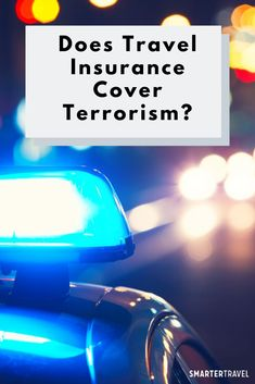 "Given recent headlines, you might wonder: Does travel insurance cover terrorism? And the short answer is, ""Yes, but…"" with some important variables in that ""but. Best Travel Insurance, Western Caribbean Cruise, Online Insurance, Tourism Development, Insurance Comparison, Online Travel, Good Morning America, Travel News, Business Travel"