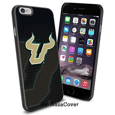NCAA University sport South Florida Bulls , Cool iPhone 6 Smartphone Case Cover Collector iPhone TPU Rubber Case Black [By NasaCover] NasaCover http://www.amazon.com/dp/B0140MWC2C/ref=cm_sw_r_pi_dp_a4j2vb02075NM