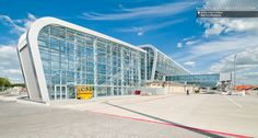 The new Lviv International Airport in Poland