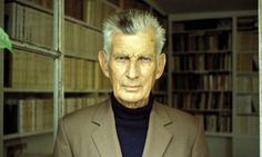 Samuel Beckett wrote to a friend in 1933 that the rejection of Echo's Bones by his publisher 'discouraged me profoundly'. Photograph: Louis ...