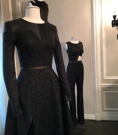#bust #bustform #blackdress #fashion #paris #labonneaccroche