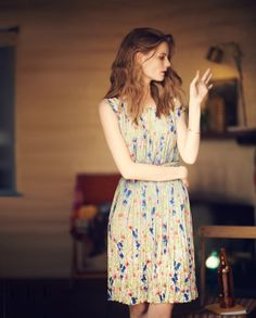 Anthropologie Meadowlight Dress