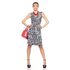 "Tiana B. ""Lady-Like Done Right"" Surplice Dress at HSN.com. $20"
