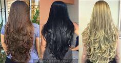 17 DICAS DE COMO TER CABELOS LONGOS LINDOS E SAUDÁVEIS! #cabeloslongos #cabelolongo #projetorapunzel