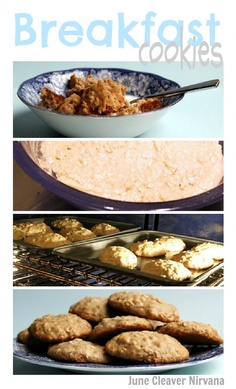 Cookies ARE for breakfast!  Favorite family recipe from June Cleaver Nirvana