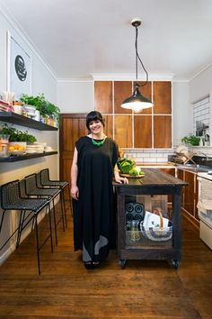 Unna Burch In the kitchen of her Lower Hutt home, where she creates recipes for her food blog.
