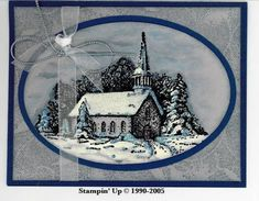 Winter Stillness by Carole Richardson - Cards and Paper Crafts at Splitcoaststampers