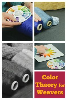 Master color theory for weavers! Deb Essen will teach you the art of choosing colors for weaving design.