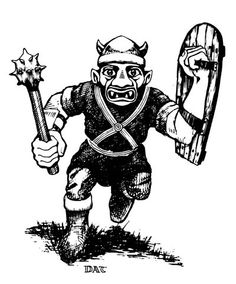 No one inspired me more than OG Dungeons and Dragons Illustrator - David A. Trampier.