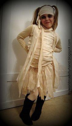 Girl mummy