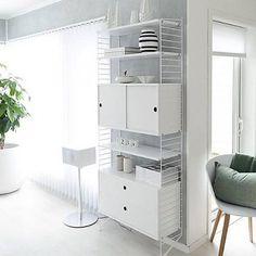 String Furniture: wandrekken & modulair kastensysteem   Nordic Living Wandrek