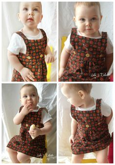 Looking for an adorable girls jumper dress sewing pattern? Check out our Pattern…