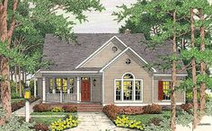 Open Floor Plan - 6293V | 1st Floor Master Suite, CAD Available, Corner Lot, Cottage, Country, PDF, Traditional | Architectural Designs