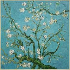 Branches of an Almond Tree by Vincent Van Gogh Framed Painting Wildon Home