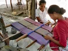 Weaving in Timor Leste