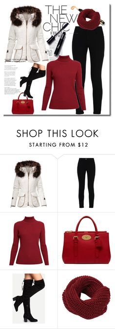 """""""'' Winter is good ''"""" by pepo-beckham ❤ liked on Polyvore featuring STELLA McCARTNEY, Rumour London and Mulberry"""
