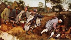 1568 - The Parable of the Blind leading the Blind.