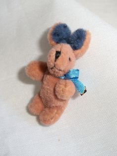 Miniature Toy Bunny Rabbit by picklebearies on Etsy, $5.00