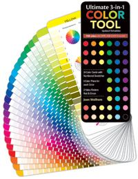 Ultimate 3-in-1 Color Tool By Joen Wolfrom/C&T Publishing