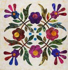 Inspiration only on moda website. Lovely appliqué colours. 1529.00234