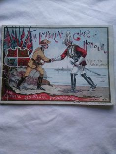 1901 Imperial Guard Souvenir Programme   Trade Me Marketplace Auckland, War, Baseball Cards, Painting, Souvenir, Painting Art, Paintings, Painted Canvas, Drawings