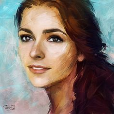Portrait Irena on Behance