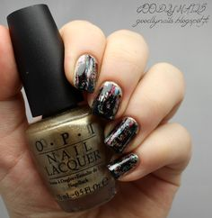 Goodly Nails: Distressed- kynnet