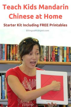 Teach kids Mandarin Chinese: free printables kit