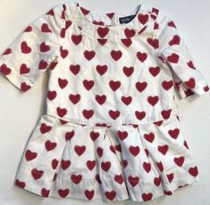 d3d8178fb3e Details about Kids Baby Girls Valentine s Day Gfits Love and Heart Party  Dress 18M 24M 3 4 5 T