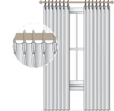 spacing of pinch pleat drapes  | ... that both of the edges of your drapery will return the same direction
