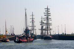 Drukte bij de sluizen #Sail de Ruyter #fotografie Jack Eversen