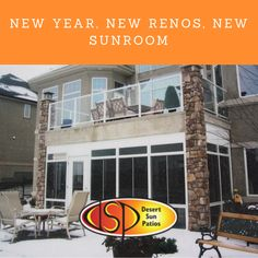 As the calendar turns to the new year, you'll be spending more and more time in your new sunroom with the holiday season. Sunroom Addition, Desert Sun, Sunrooms, Resolutions, Calgary, Calendar, Fresh, Courtyards, Conservatory