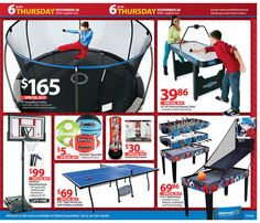 Trampoline- Walmart Black Friday 2013 Ad Page 37 Ad