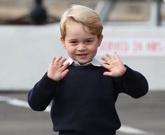 prince george waves
