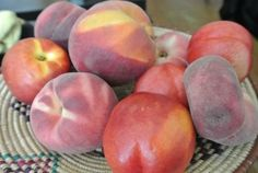 Peachy Keen: all about peaches, including a recipe for Grilled Peach Melba & a grain alcohol 'n peach pit infusion.... Gotta try that one.