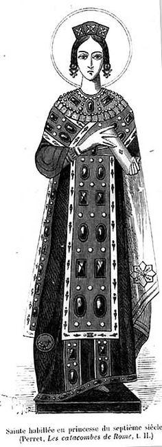 Costume History: Byzantium - History of Fashion Design