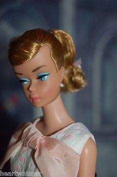Vintage Barbie Blond Swirl