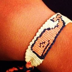 nauticalnons3nse:    A monogrammed vv whale bracelet. What more could I ask for? @paigediprete (Taken with Instagram)
