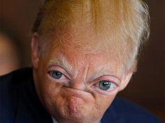 15 pictures of Donald Trump vs Photoshop