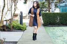 Her Sassy Closet: How to Wear Velvet All Day Everyday (Part Sassy, Duster Coat, Vest, Chic, Tips, Blog, How To Wear, Jackets, Closet