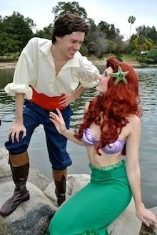 Party Princess Productions provides party characters like Princesses, Superheroes & Storybook Characters for Kid's Birthday Parties & Events. Little Mermaid Costumes, Ariel The Little Mermaid, Disney Halloween, Couple Halloween Costumes, Halloween Makeup, Halloween Ideas, Party Characters, Prince Eric, Disney Princess Party