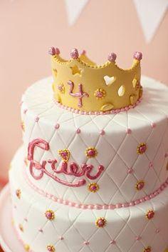 Fun cake, love the crown.