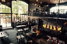 The bistrot restaurant at seminyak bali. Very rustic and industrial concept! Two thumbs up for the design! ^^