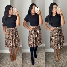 Modest Church Outfits, Modest Casual Outfits, Modest Dresses, Modest Fashion, Chic Outfits, Dress Outfits, Fashion Outfits, Church Clothes, Apostolic Fashion