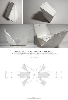 Hanging Smartphone Case Box - Packaging & Dielines: The Designer's Book of Packaging Dielines