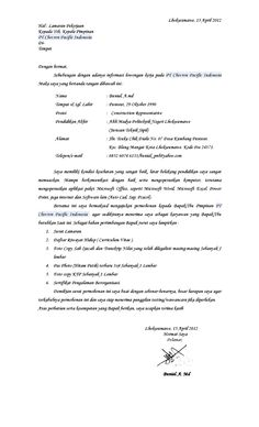Recommendation Letter Sample University   Resume Maker  Create     SlideShare   Contoh Application Letter Cv Bahasa Inggris Berita Unik